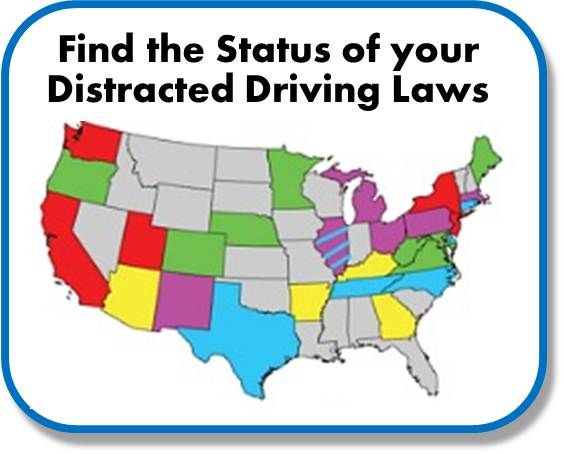 State Distracted Driving Laws